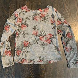 Eight Sixty Size Medium Floral Top
